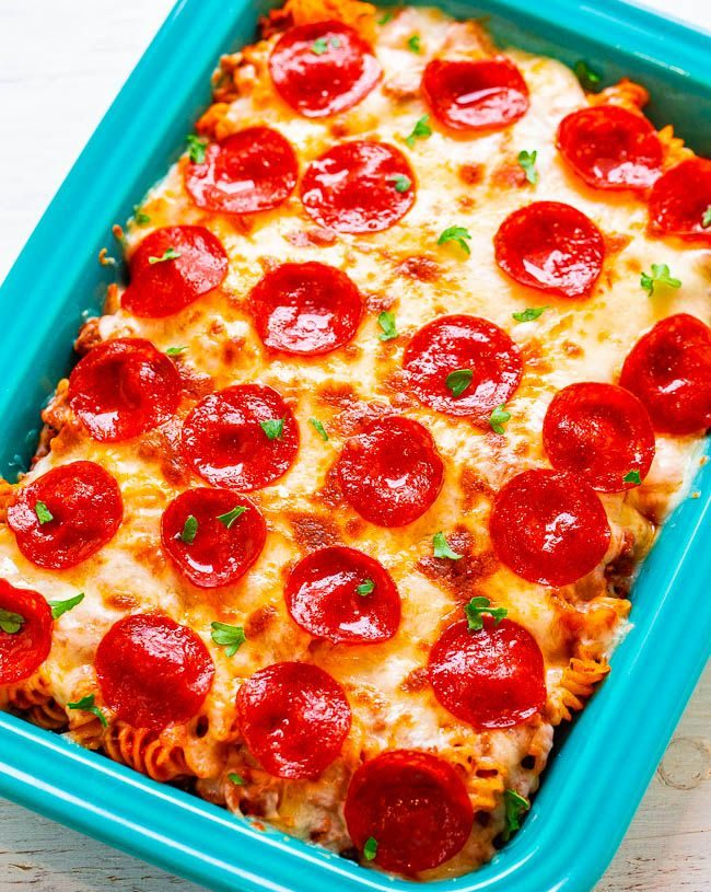 KETO LOW CARB PIZZA CASSEROLE RECIPE (EASY) – 5 INGREDIENTS