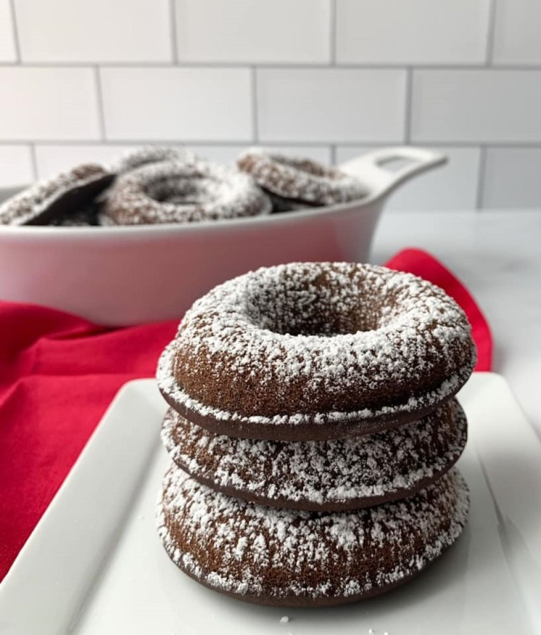 WW Baked Chocolate Donuts